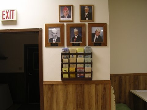 more plaques in meeting room